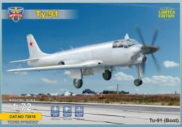 Tupolev Tu-91 Naval attack aircraft