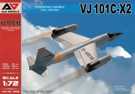 Scale model  VJ 101C-X2 Supersonic-capable VTOL fighter