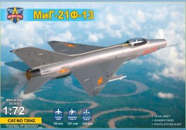Scale model  MiG-21 F-13 Supersonic jet fighter