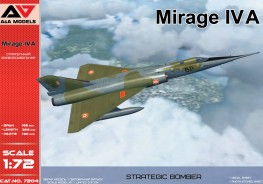Scale model  Mirage IV A Strategic bomber