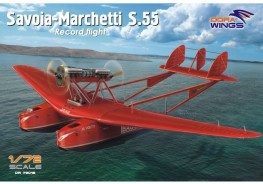 Scale model  Savoia-Marchetti S.55 (Record flight)